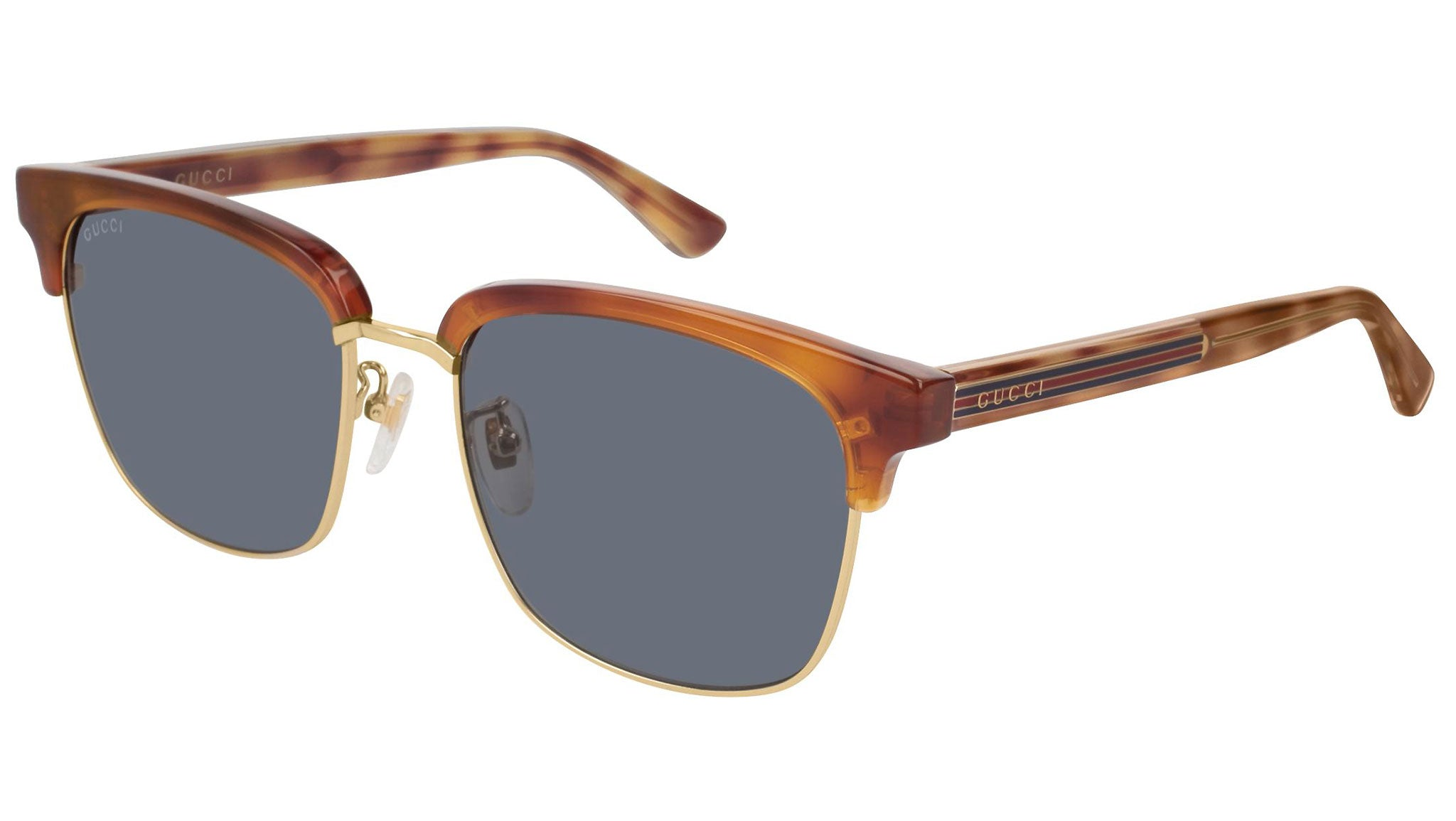 GG0382S gold havana and blue