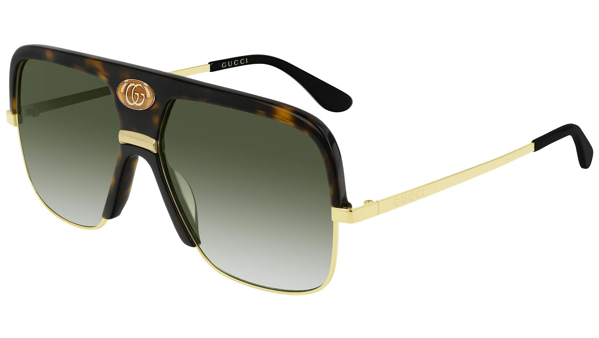 GG0478S gold havana and green