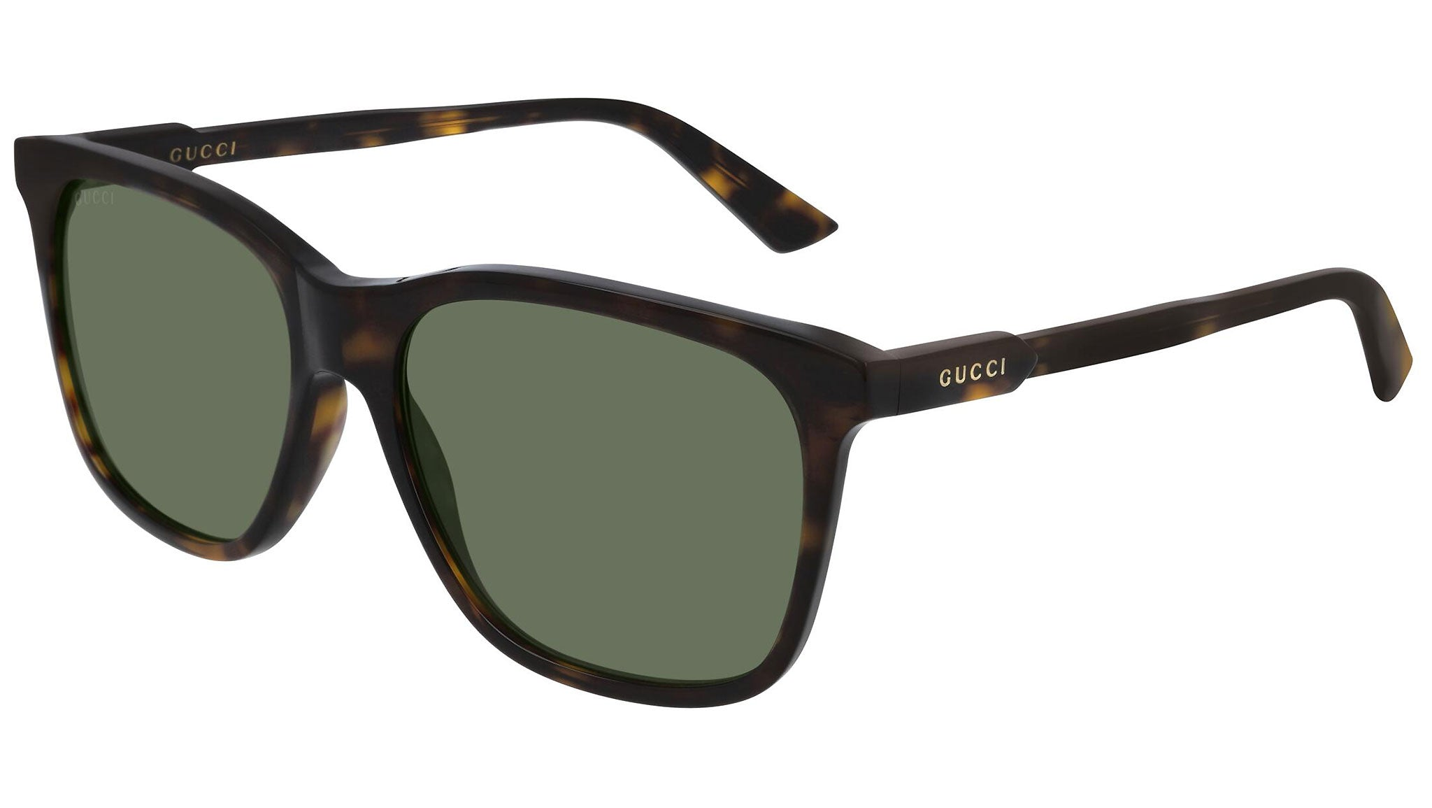 GG0495S dark havana and bottle green