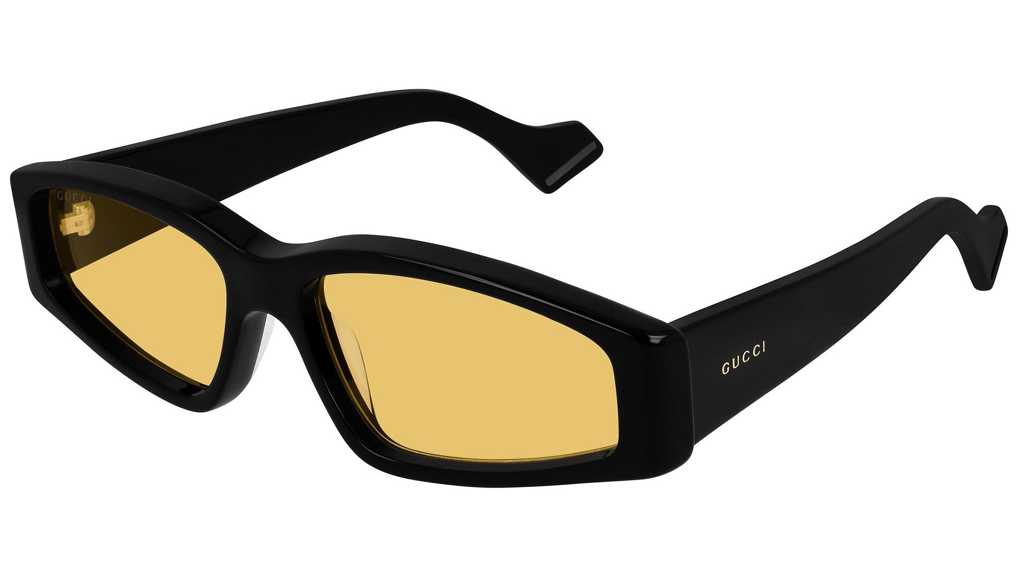 GG0705S shiny black and dark yellow