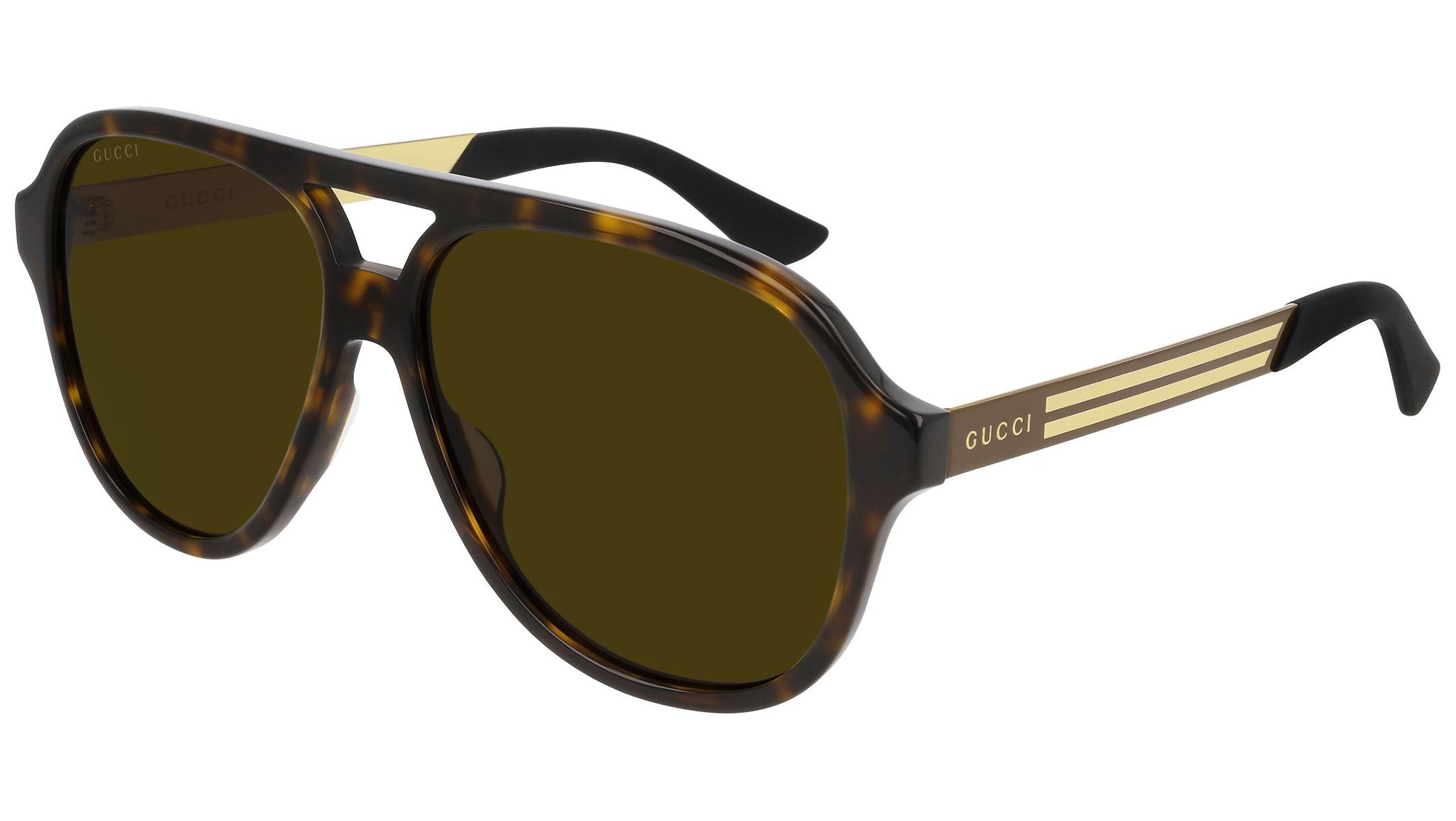 GG0688S dark havana and brown