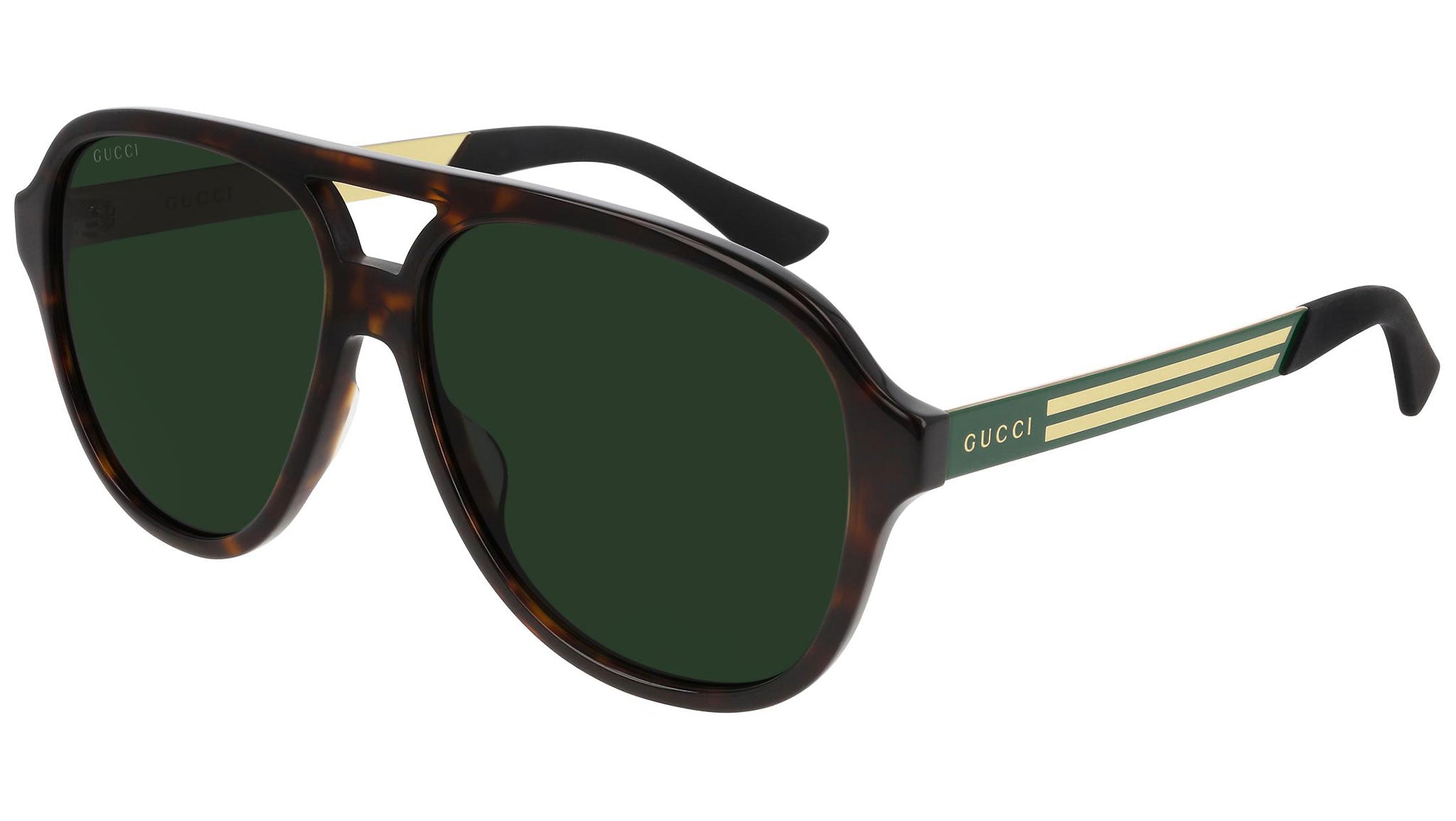 GG0688S dark havana and green