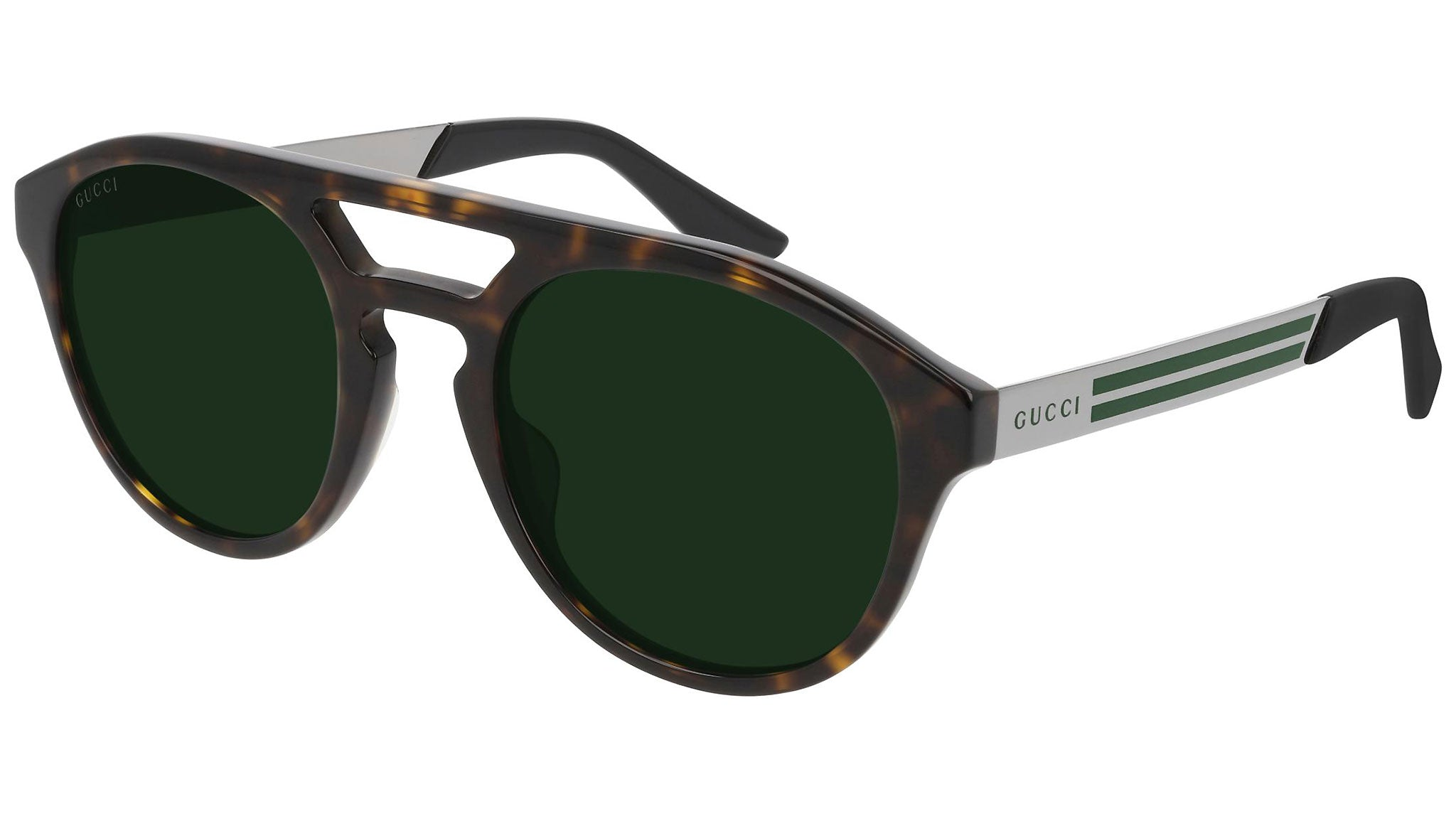 GG0689S dark havana and green