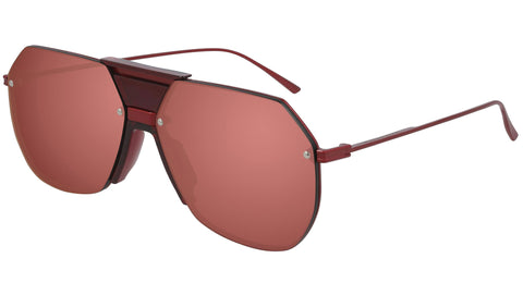 BV1068S 003 transparent burgundy red
