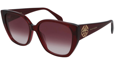 AM0284S 004 transparent burgundy