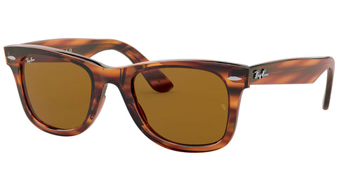 Wayfarer Ease RB4340 striped red tortoise