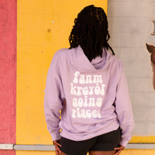 Load image into Gallery viewer, FKGP LAVENDER HOODIE