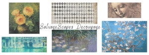 SalvageScapes Decoupage