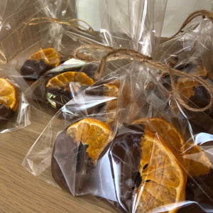 choc coated mandarins