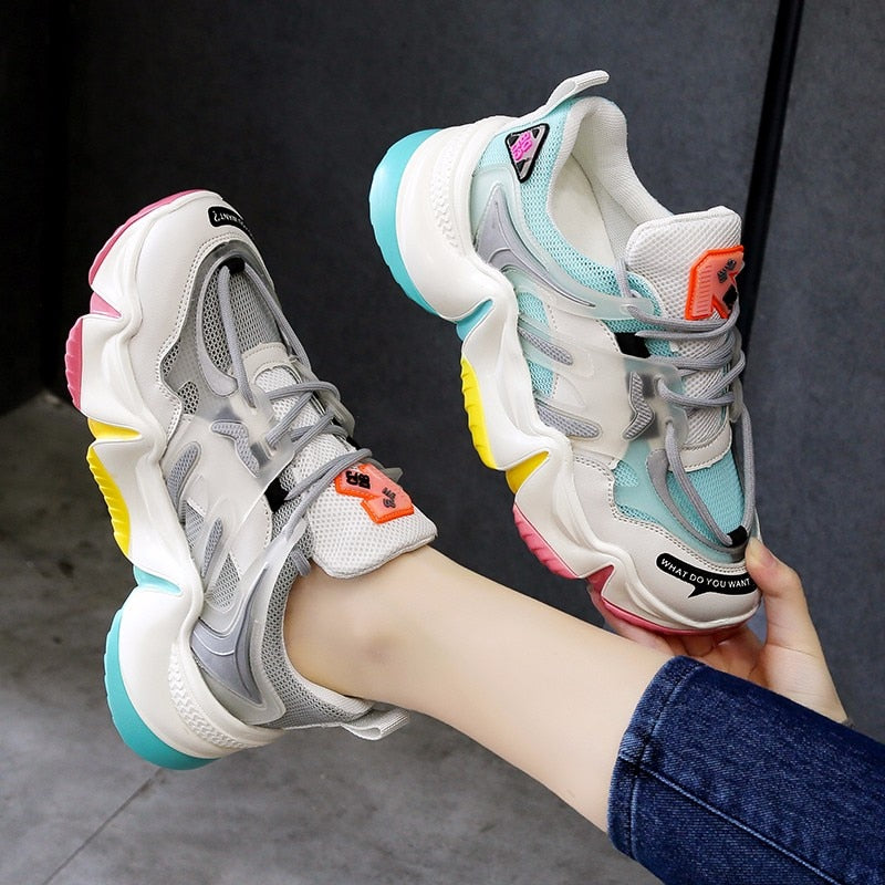 MBR Force Sneakers - bring the rainbow to your outfits!