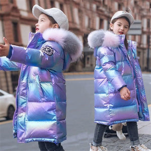 VERA Iridescent Winter Jacket for Girls - spice up the winter!