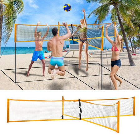 MULTI-FOUR Volleyball Net - Volley for four!