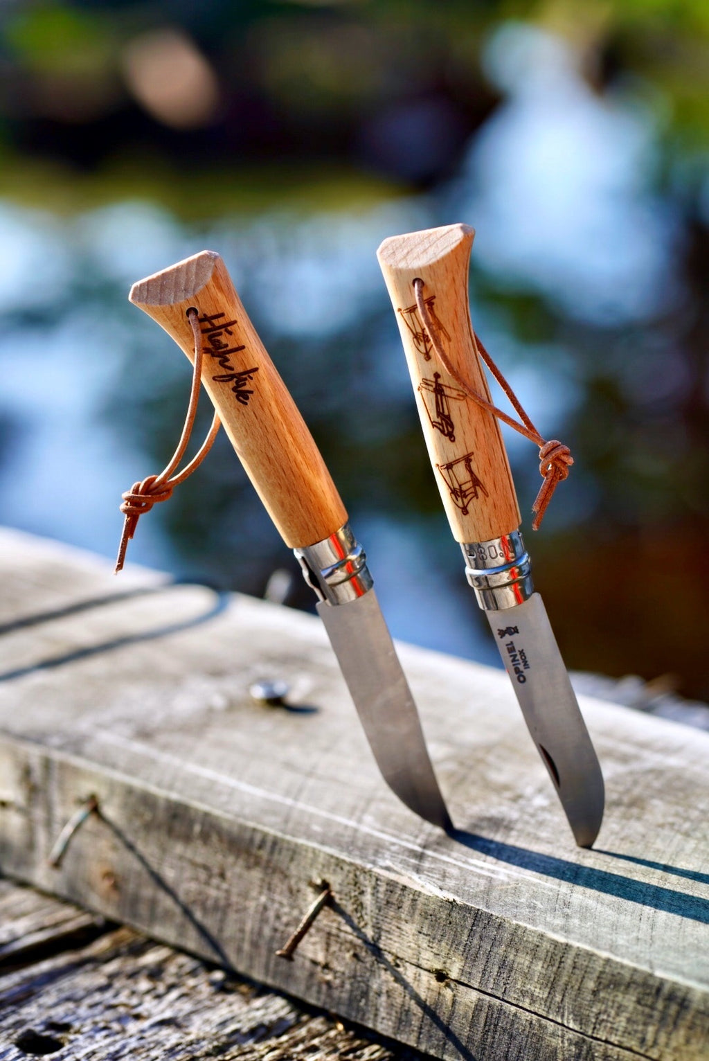 « Héritage High Five - Coffret Origins » Couteau OPINEL n°8 X High Five