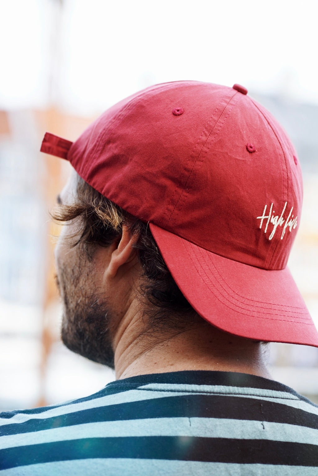 « Daddy Look » Casquette (bordeaux ou beige) » Headict X High Five