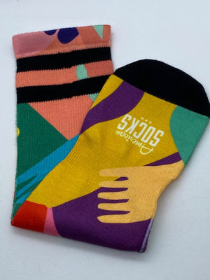 """HIGH SOCKS"" CHAUSSETTES"