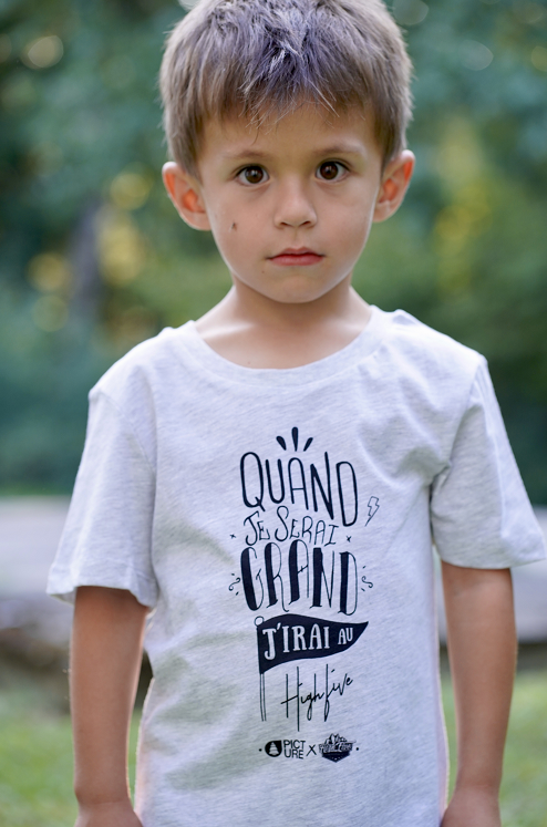 « High Five du Futur » T-shirt enfants Picture X High Five