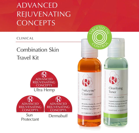 Combination Skin Travel Kit