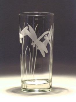 Dragonfly Highball Glass