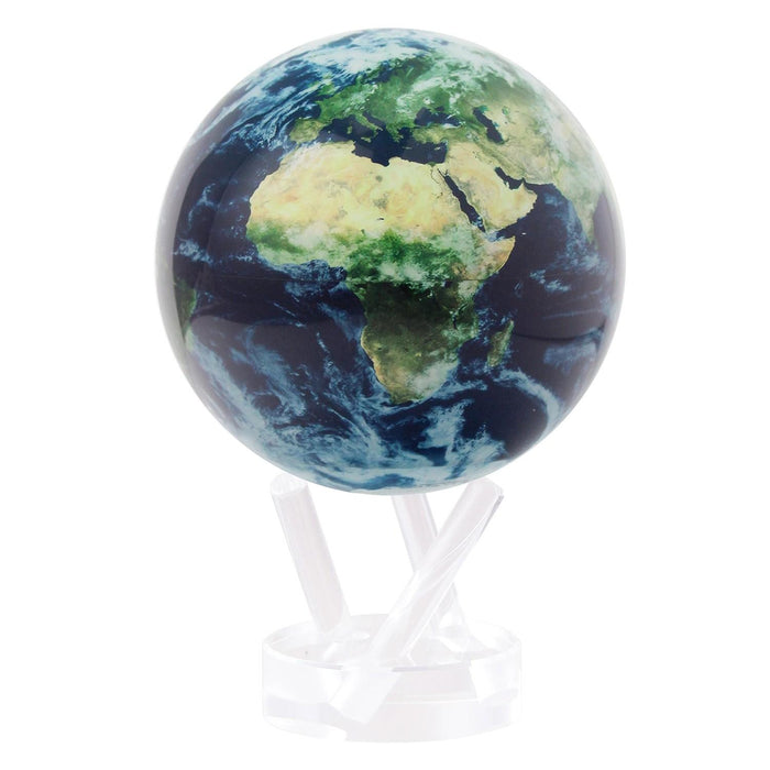 Earth with Clouds Globe