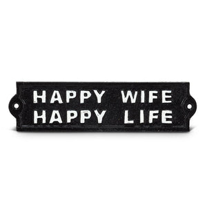 Happy Wife Sign