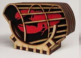 Lobster Trap Coaster Set
