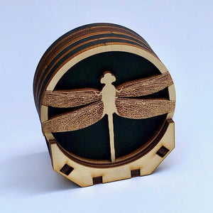 Dragonfly Coaster Set