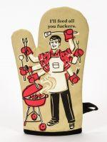 Feed You F'ers Oven Mitt