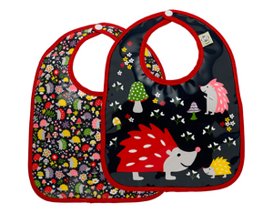 Hedgehog Bib Set
