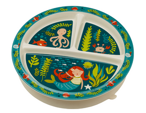 Mermaid Divided Plate
