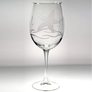 Starfish Tall Wineglass