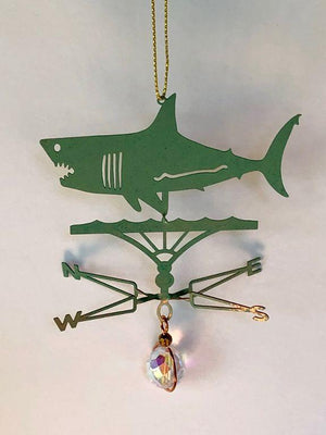 Shark Weathervane Ornament
