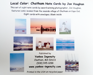 """Local Color""Chatham Note Cards"