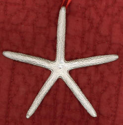 Pewter Starfish Ornament
