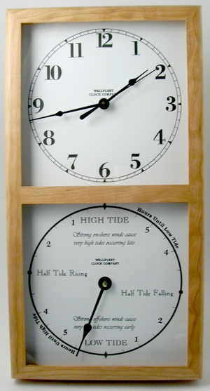 Wall Tide & Time Clock