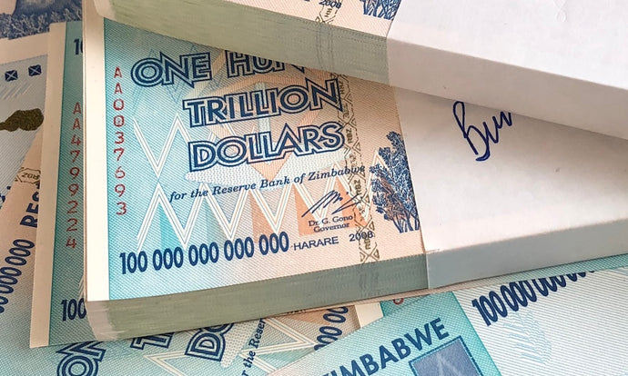 How Did Zimbabwean Hyperinflation Leads to Massive Denomination Banknotes ?