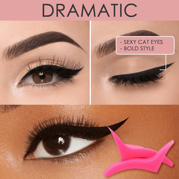 Perfect Winged Eyeliner Stamp Beauty & Health summertwinkle Dramatic
