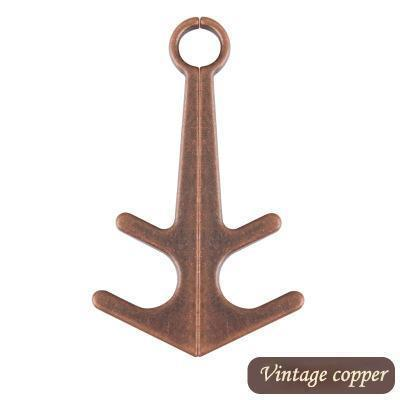 Anchor Retro Magnetic Phone Holder Gadgets summertwinkle Vintage Copper