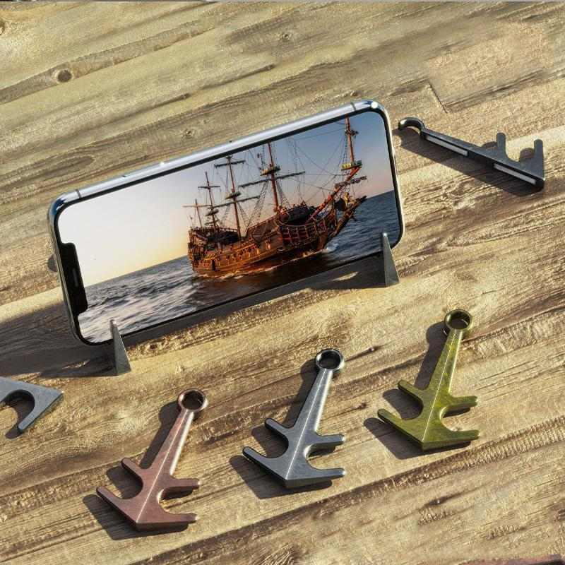 Anchor Retro Magnetic Phone Holder Gadgets summertwinkle Vintage Gold
