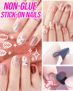 No Glue Stick-On Nail Beauty & Health summertwinkle