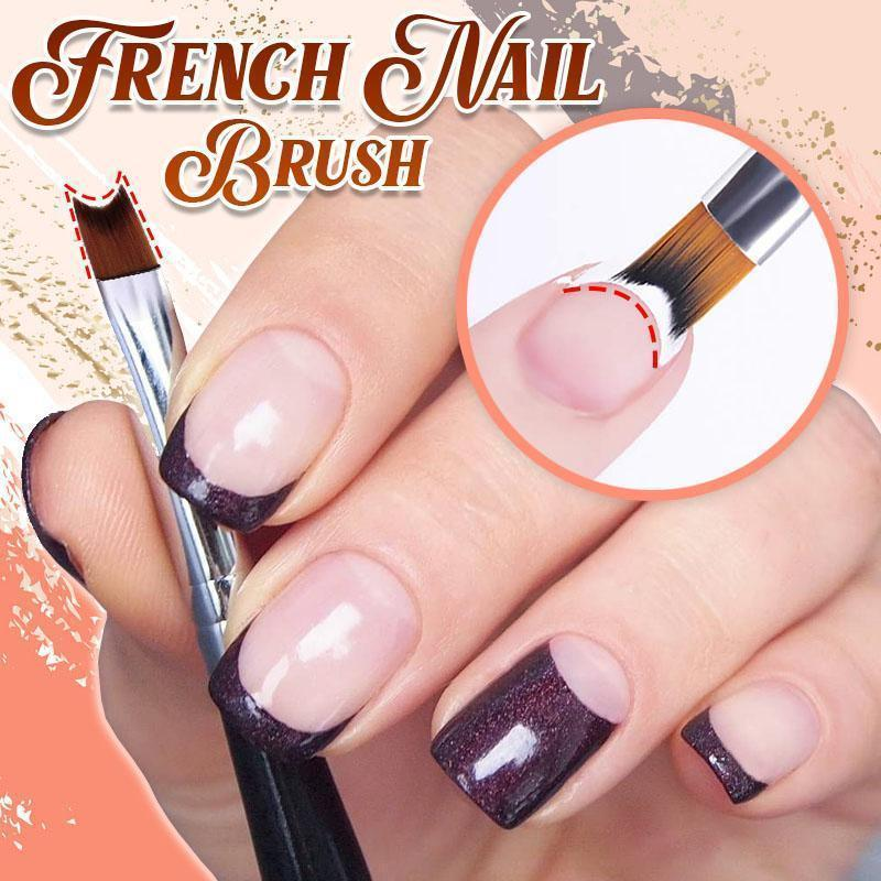 French Half Moon Polish Brush Beauty & Health summertwinkle