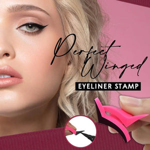 Perfect Winged Eyeliner Stamp Beauty & Health summertwinkle Classic