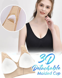 Breathable Comfort Air Bra Beauty & Health summertwinkle