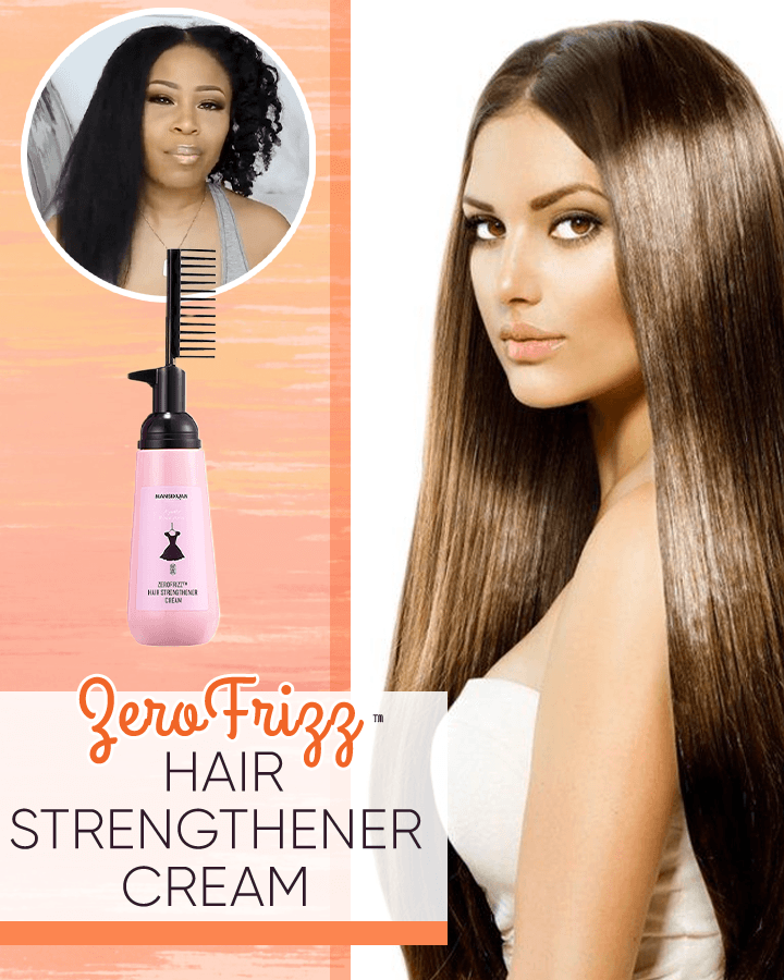 ZeroFrizz™ Hair Strengthener Cream titeam