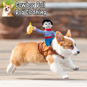 Cowboy Doll Dog Clothing summertwinkle S