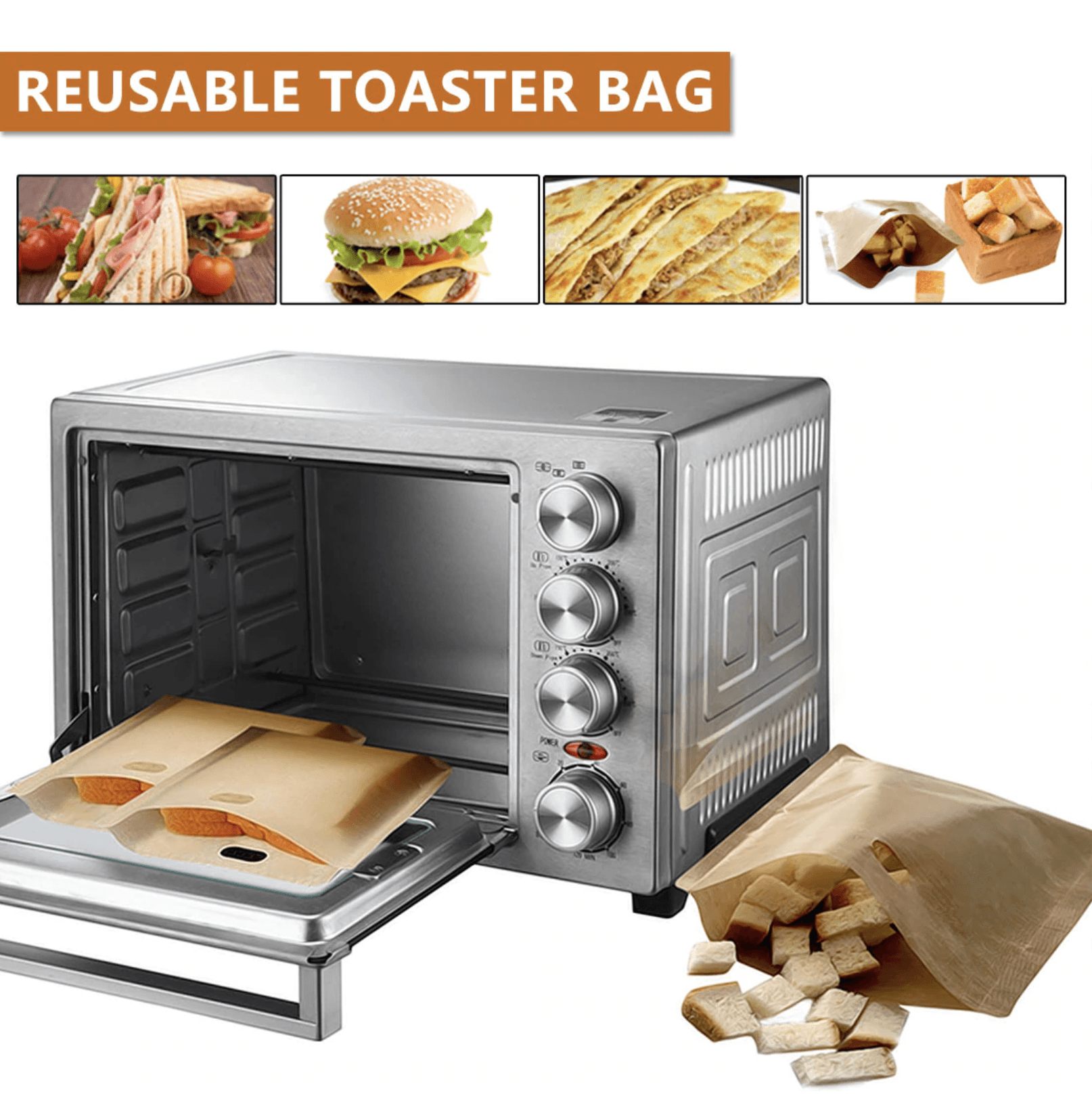Reusable Toaster Bag summertwinkle