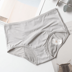 Leak-Proof Period Panties Beauty & Health summertwinkle Gray L