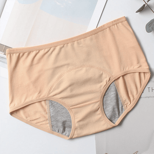 Leak-Proof Period Panties Beauty & Health summertwinkle Nude L