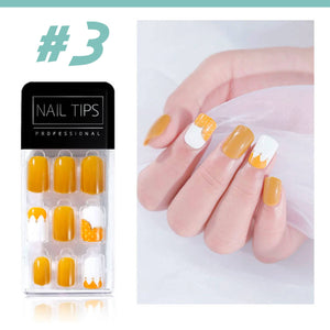 No Glue Stick-On Nail Beauty & Health summertwinkle #03