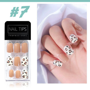 No Glue Stick-On Nail Beauty & Health summertwinkle #07