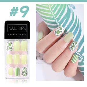 No Glue Stick-On Nail Beauty & Health summertwinkle #09